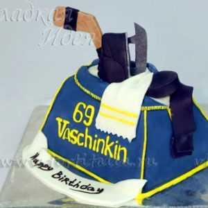 Торт Атрибуты хоккеиста