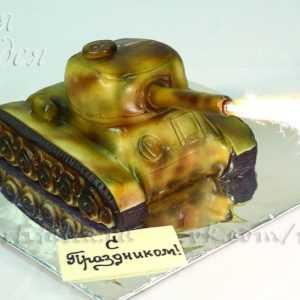 Торт для мужчин Танк