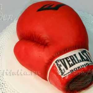 Торт Боксерские перчатки