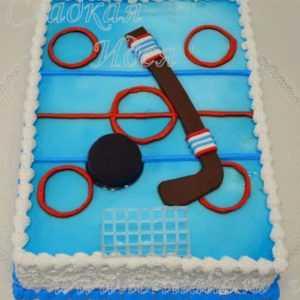 Торт Хоккейное поле