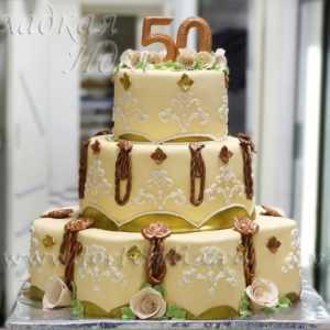 Свадебный торт 004121
