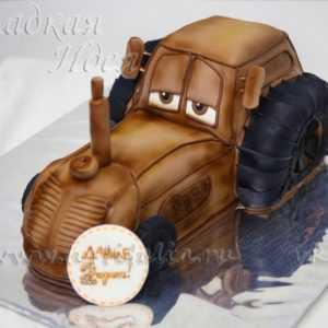 Детский торт Трактор
