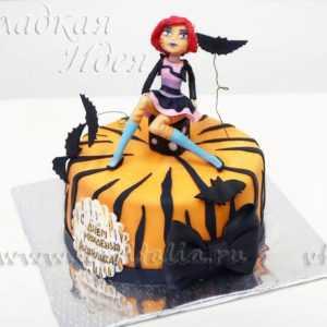 Торт детский Девочка на торте