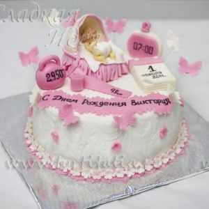 Торт Рождение ребенка