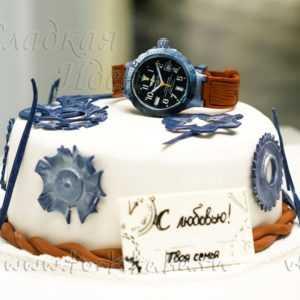 Торт Ручные часы