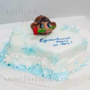 """Торт на заказ """"Мамонтенок"""""""