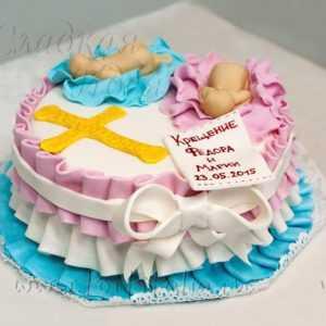 """Торт детский """"Крещение"""""""