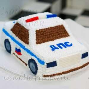 """Торт на заказ """"ДПС"""""""