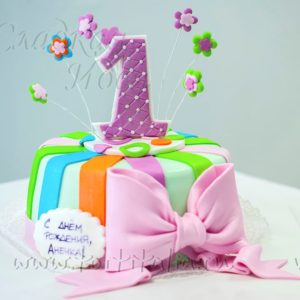 """Детский торт """"1 год"""""""