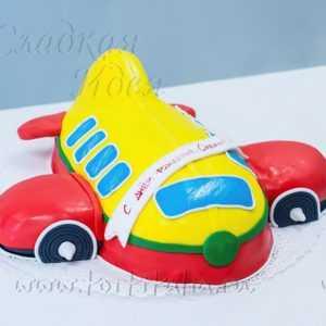 """Детский торт """"Самолетик"""""""