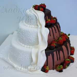 Свадебный торт 004319