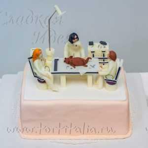 Торт на заказ Ветеринары