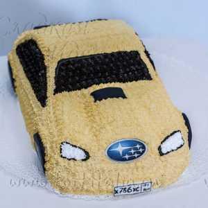 Торт машина Субару