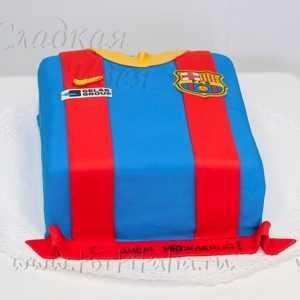 Торт Майка ФК Барселона