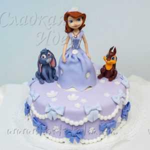Детский торт Принцесса