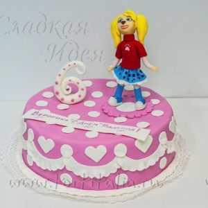 Детский торт Роза