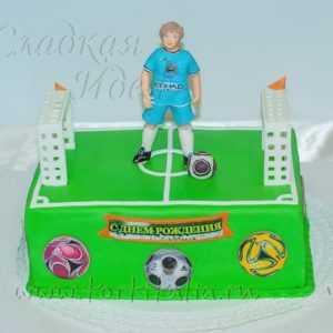 Торт на заказ Футболист