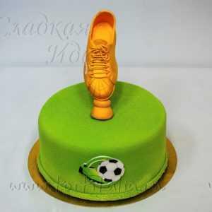 Торт Золотая Бутса