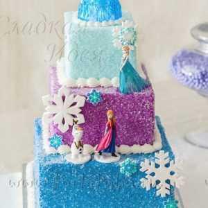 Новогодний торт 007088