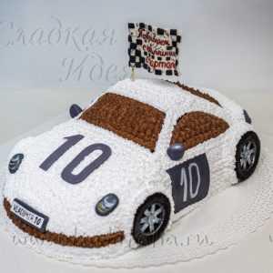 Торт машина Порше