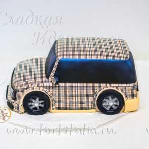 Торт машина Бербери