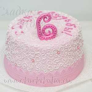 Торт на 6 лет свадьбы