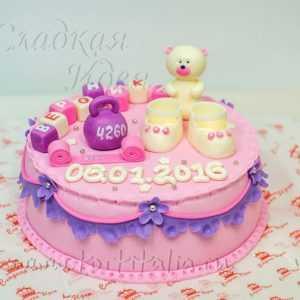 Торт Новорожденный ребенок