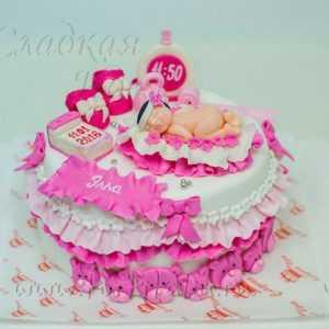 Торт С новорожденным