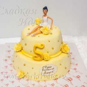 Торт для девочки Балерина