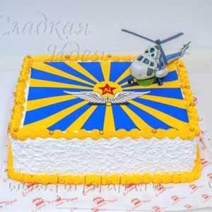 Торт Вертолет