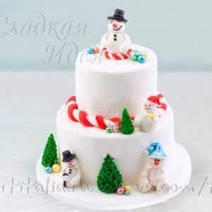 Торт на Новый год 007326