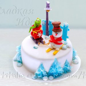 Торт на Новый год 007327