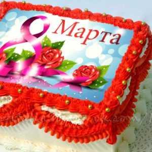 Торт на 8 Марта: арт. 007339