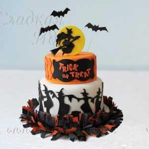 """Торт на Хэллоуин """"Шабаш ведьм"""""""