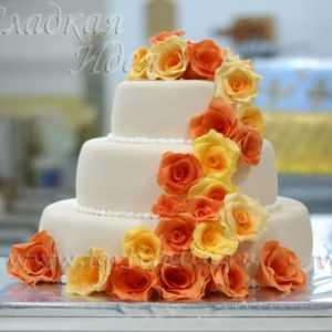 Свадебный торт 004084