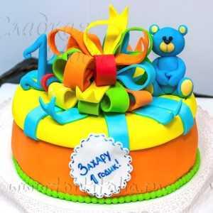 Торт детский на 1 год