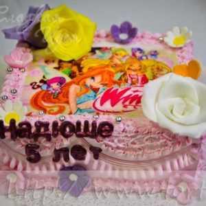 Торт для девочки Феи