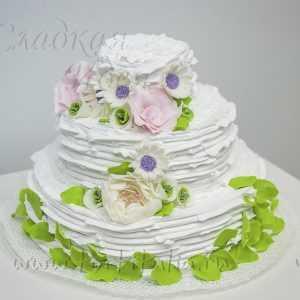 Свадебный торт 007026