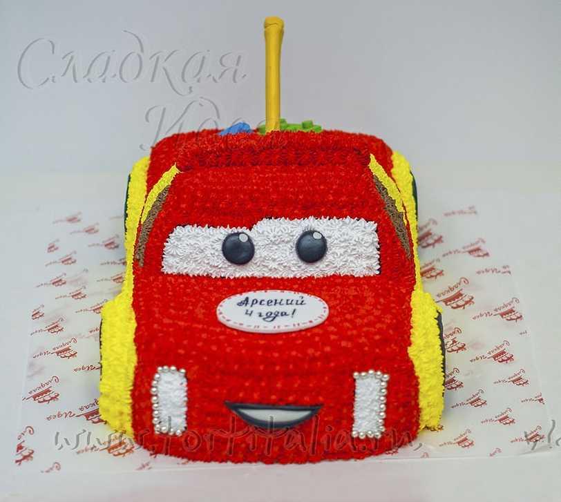 поздравления торт машинка красная фото этом