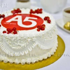Торт корпоративный Аптека А5