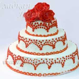 Свадебный торт 004036
