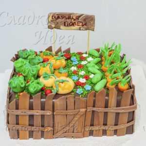 Торт на заказ Огород