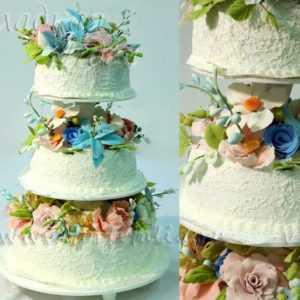 Торт свадебный 004067