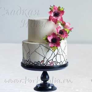 Свадебный торт 007355