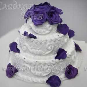 Торт на свадьбу 00566