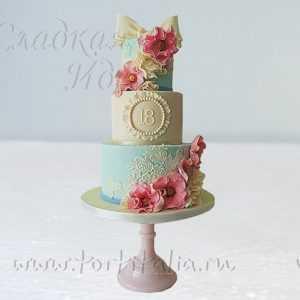 Свадебный торт 007350