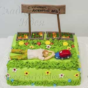 Торт на заказ Огородник