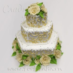 Торт на свадьбу 004210