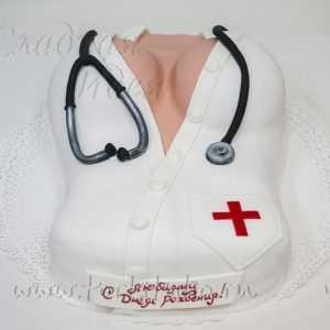 Торт Халат медсестры