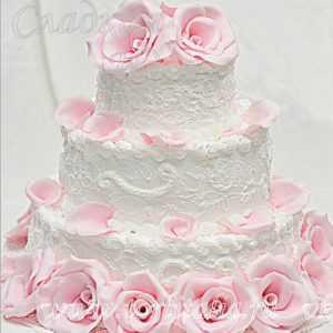 Свадебный торт 004118